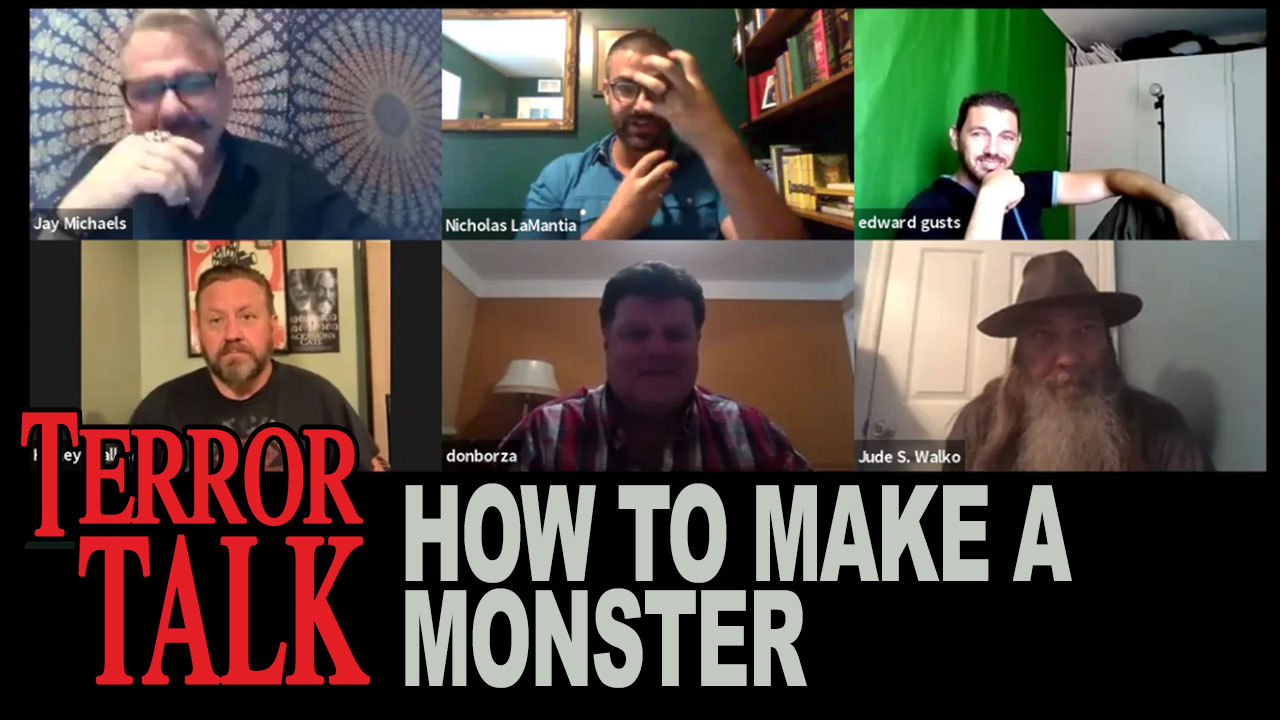 Terror Talk – How to Make a Monster (Special Zoom Edition)